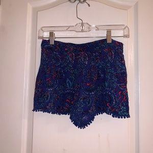 XS Multi Colored Shorts